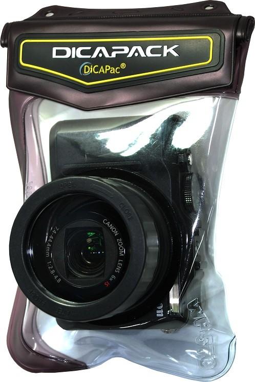 DiCAPac WP-570 wasserdichte Kameratasche mit Kamera 2