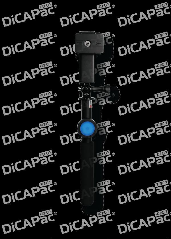 DiCAPac Action DP-1S Handy Selfie Stick mit wasserdichtem Bluetooth Fernauslöser - Produktbild