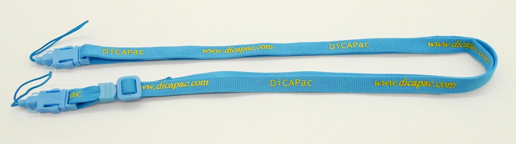 dicapac ersatzteil trageriehmen neck strap viele dicapac modelle - blau