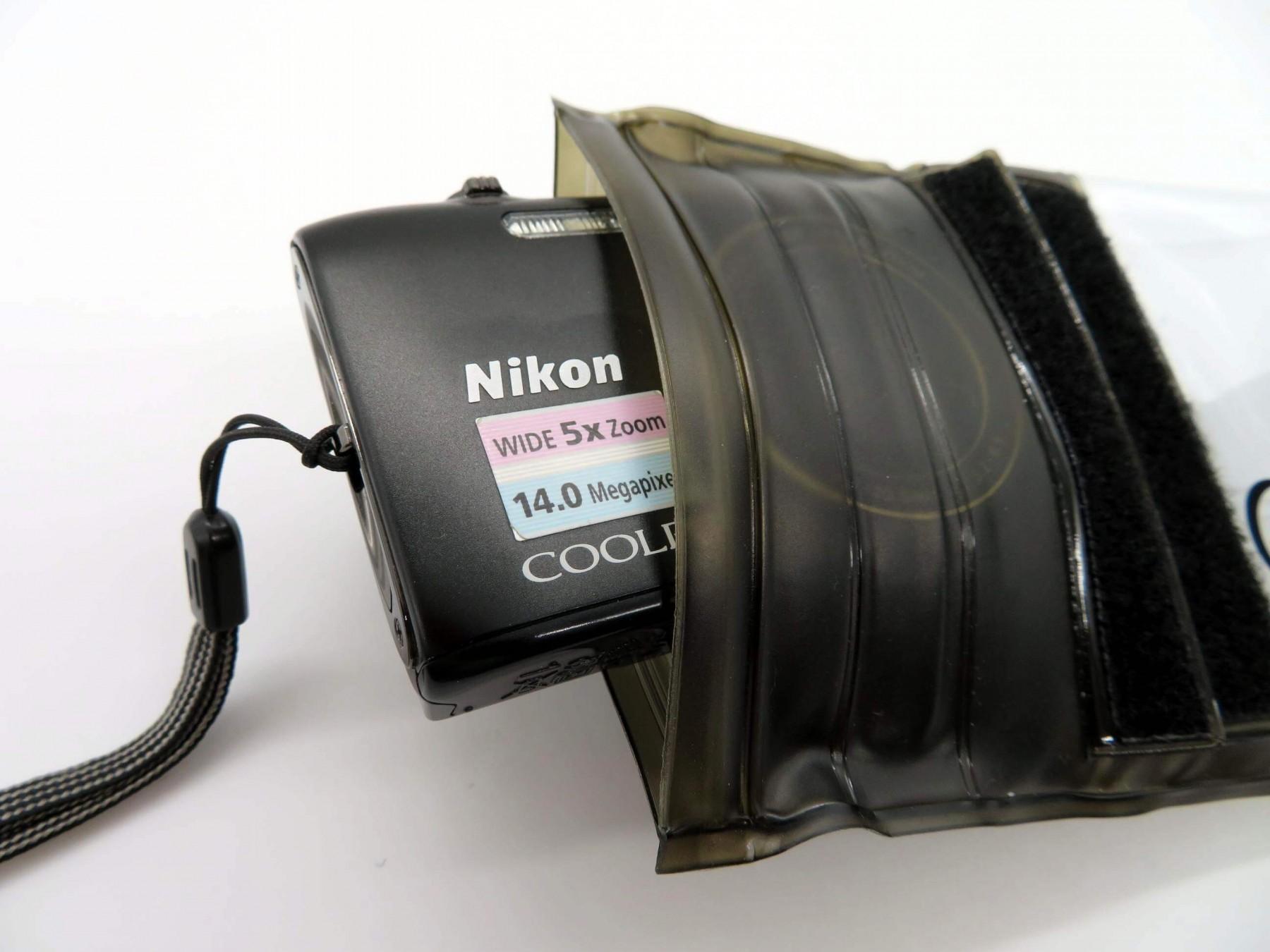 Unterwasser Kameratasche DiCAPac WP-310 - Kamera einsatzbereit 1