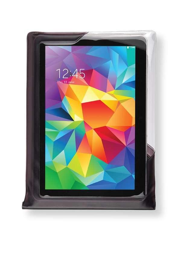DiCAPac WP-T20 wasserdichte Tablet Hülle - weiss - vorne