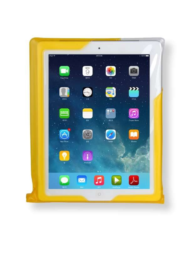 DiCAPac WP-i20 wasserdichte iPad Hülle - weiß