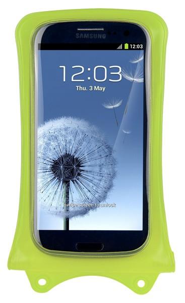 DiCAPac WP-C1 wasserdichte Handyhülle für alle Handys - grün