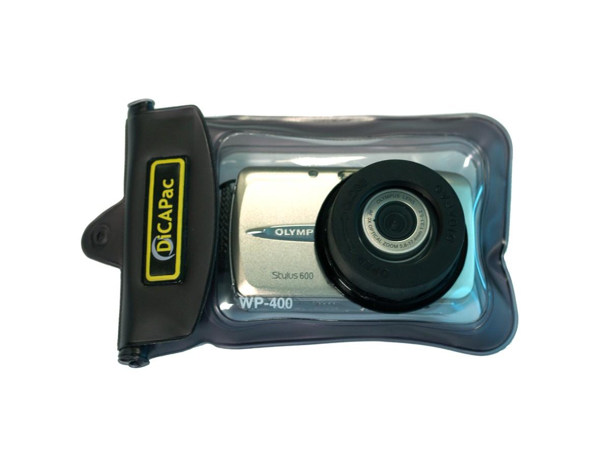 DiCAPac WP-400 mit Kamera