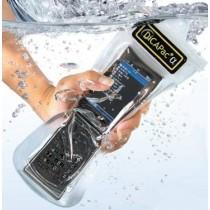 DiCAPac WP-C20 mit Handy unterwasser