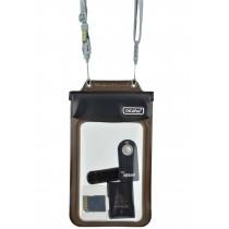 DiCAPac WP 565 kleine wasserdichte Schutzhülle für persönliche Gegenstände Zubehör Akkus Speicherkarten schwarz vorne