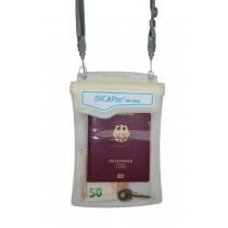 DiCAPac WP M40 Unterwasser Schutztasche Dokumente Wertsachen vorne