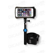 Set Wasserdichte Outdoor Handyhülle + Bluetooth Selfie Stick - DiCAPac Action DARS-C2