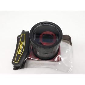 DiCAPac WP-S2 wasserdichte Schutztasche für Digitalkameras wie Canon Powershot SX720HS, Samsung WB-350f u.v.m.