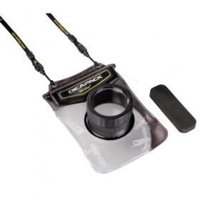 DiCAPac WP-610 wasserdichte Superzoom-Kamera Tasche für z.B. Sony Powershot SX170IS, Powershot G12, Coolpix S7800, Cybershot DSC-H50 u.v.a.