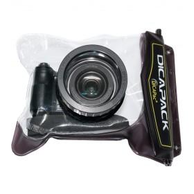 DiCAPac WP-H10 Wasserdichte Bridgekamera Tasche für z.B. Lumix DMC-FZ 38, DSC H-50, Coolpix L-830 u.v.a.