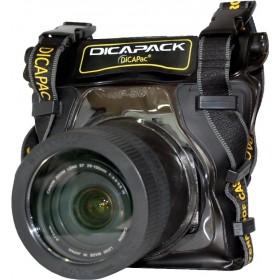DiCAPac WP-S5 wasserdichte Spiegelreflex-Kameratasche für z.B. Nikon D3300 & Canon EOS 1200D u.v.a.
