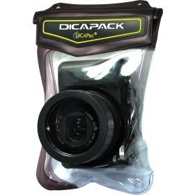 DiCAPac WP-570 wasserdichte Kameratasche für Panasonic DMC-TZ Serie, RX100 II u.v.a