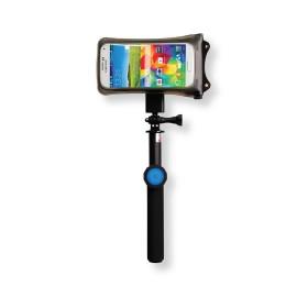 DiCAPac Action DRS-C1 Outdoor Handy Schutzhüllen Set - mit Selfie Stick und Universalhalter