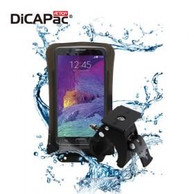 DiCAPac Action DB-C1 wasserdichtes Handy Case Set mit Fahrradhalterung - für Handys mit max. 74mm x 146mm