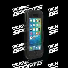 iPhone 6 Hülle stoßfest wasserdicht bis zu 10m - DiCAPac WS-i6s aus Hartplastik für iPhone 6 & 6s - DiCAPac Sports - Schwarz