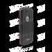 DiCAPac WS-i6s wasserdichtes iPhone 6 Handy Case für iPhone 6 & 6s - Rot - hinten