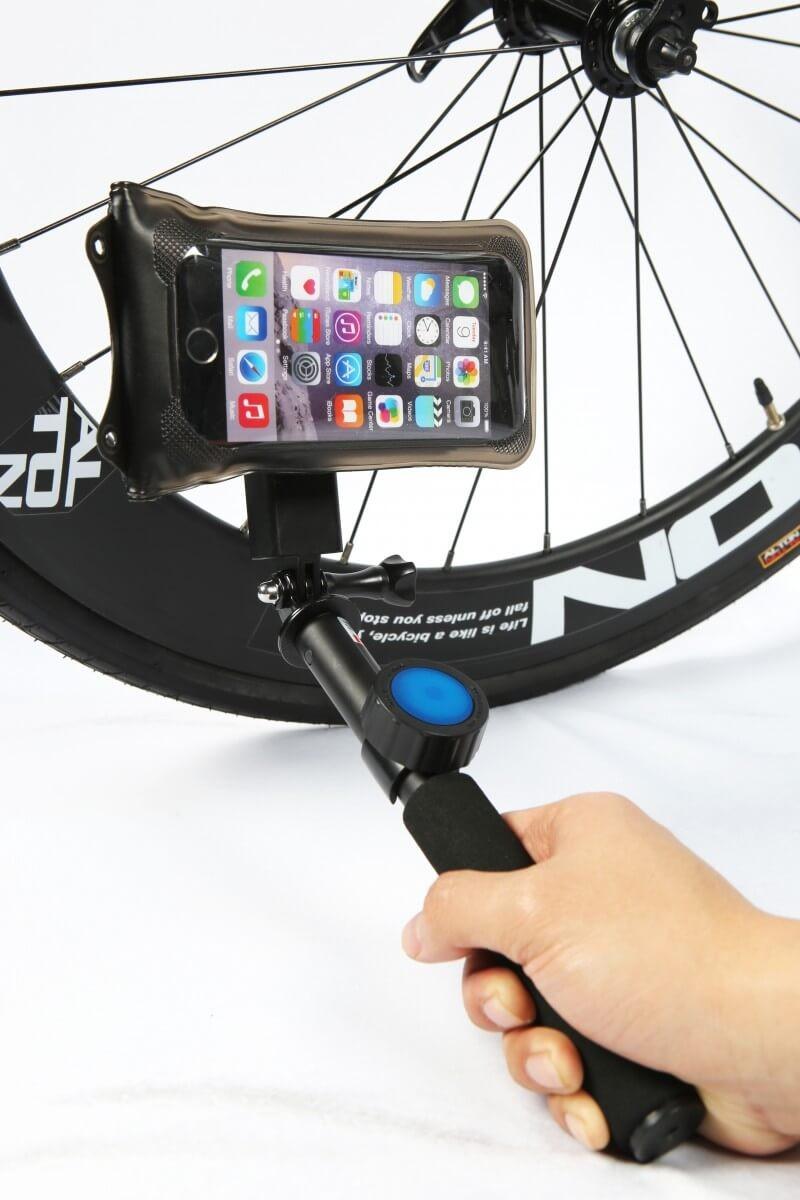 DiCAPac Action DP-1B Bike-Halterung für DiCAPac Action wasserdichte Smartphone Cases - Produktbild