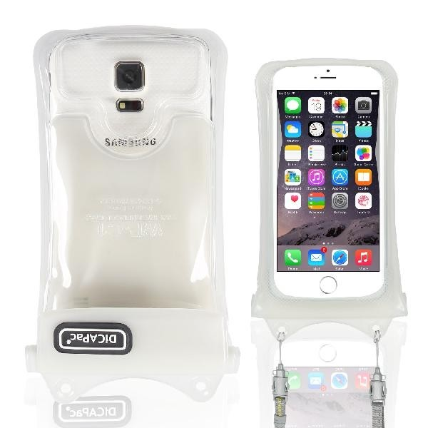 DiCAPac WP-C1 wasserdichtes Case für alle iPhones 3/ 4/ 4S/ 5 und Android/Blackberry Smartphones