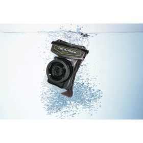 DiCAPac WP-610 waterproof Superzoom Camera Case for e.g. Sony Powershot SX170IS, Powershot G12, Coolpix S7800, Cybershot DSC-H50 and many others