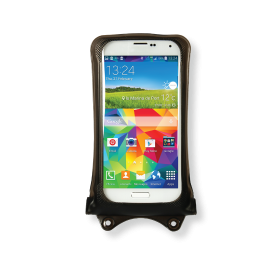 "DiCAPac WP-C1 Underwater Smartphone Case for waterproofing Smartphones up to 5.1"" display size - Polycarbonate lens - new design"