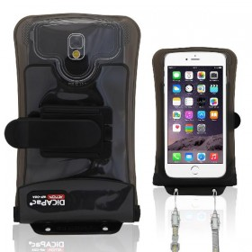 Waterproof Smartphone Case Set DiCAPac Action DA-C2 - with Action-Clip mount & Sports armband