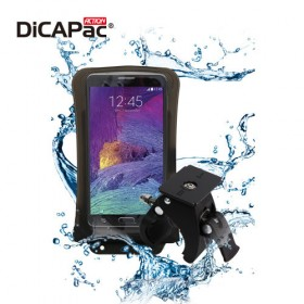 DiCAPac Action DB-C1 protective phone case with bike holder