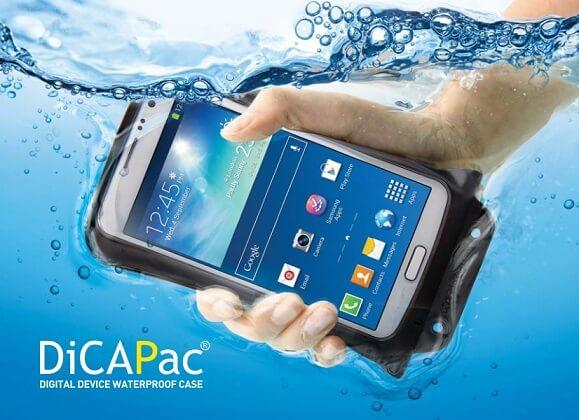 DICAPAC WP-C2 WASSERDICHTES HANDY CASE - Unterwasser gehalten