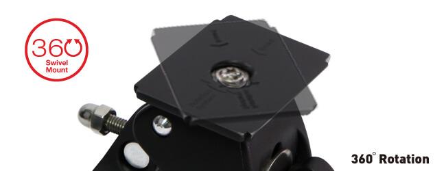 DiCAPac-Action-DP-1B-Bike-Halterung-360-swivel-aufnahme fuer wasserdichte Smartphone Cases