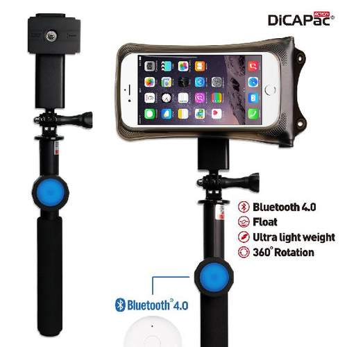 DiCAPac Action DRS-C2 wasserdichtes Smartphone Hüllen Set - mit Bluetooth Details