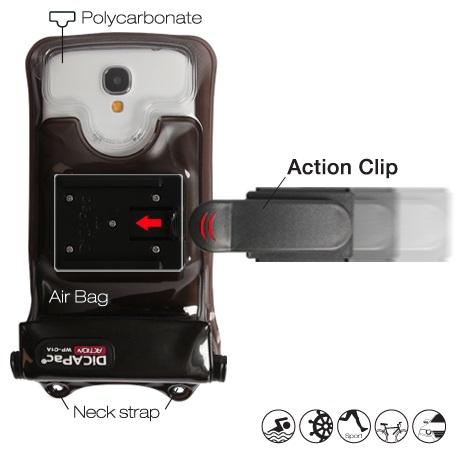 DiCAPac Action Clip-Halterung