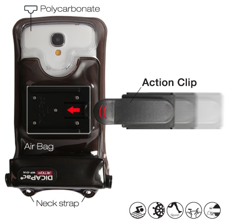 DiCAPac Action Clip bracket
