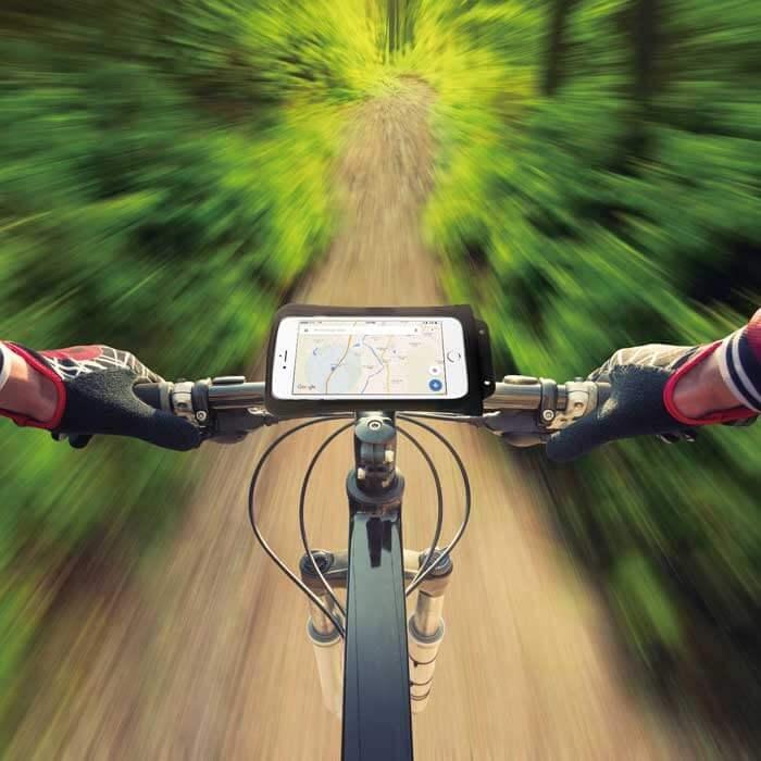 Fahrrade Bike Halterung DiCAPac Action DiCAPac Action DAB-C2