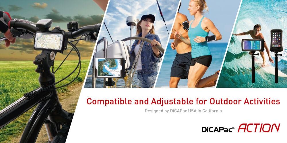 DiCApac Action Outdoor Aktivitäten Überblick