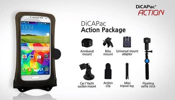 dicapac action - paket übersichts grafik