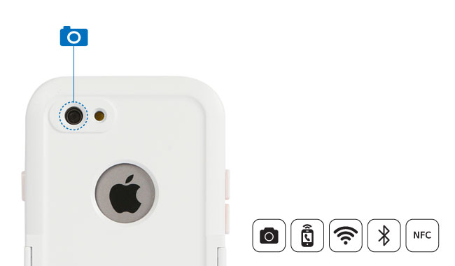 DiCAPac Sports WS-i6s - Funktionen der Schutzhülle iPhone 6s