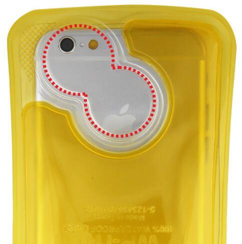o-foermige-polycarbonat-linse-in-nahaufnahme-wasserdichte-iPhone-Huelle-DiCAPac-WPi10
