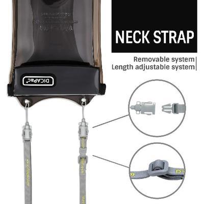 neck strap detail